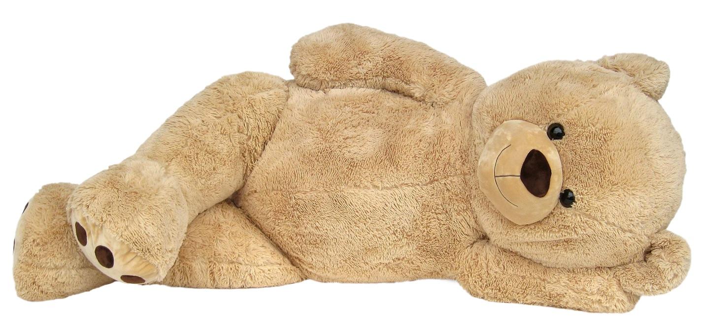 xxl riesen teddyb r 170 cm gro beige kuschelqualit t vom feinsten. Black Bedroom Furniture Sets. Home Design Ideas